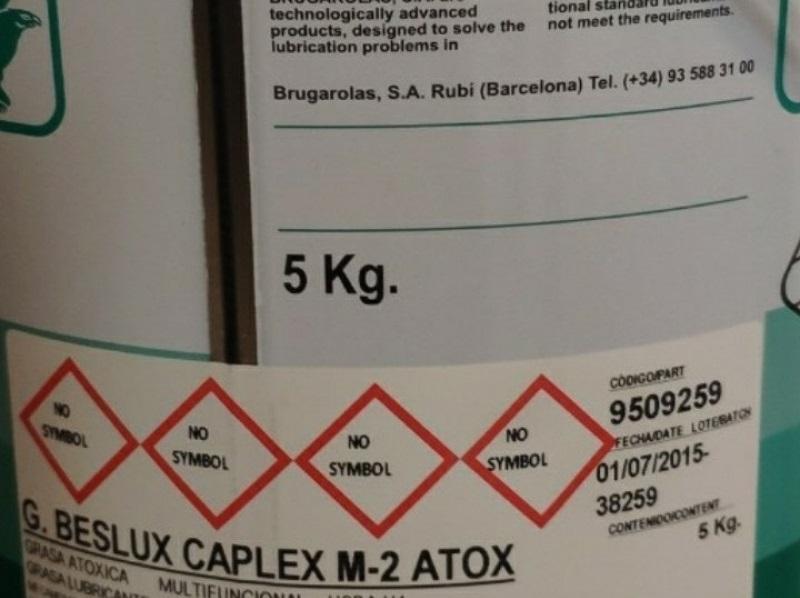 Dầu mỡ bôi trơn đặc chủng G.Beslux Caplex M-2 Atox