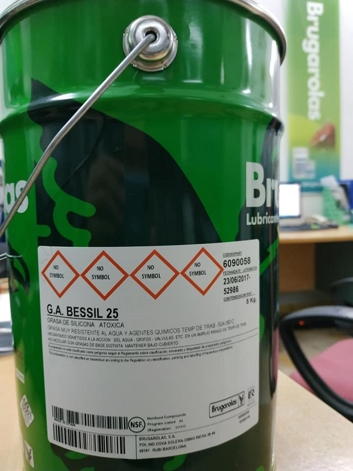 Mỡ G.A BESSIL 25 (Mỡ Silicon) - Hãng Brugarolas