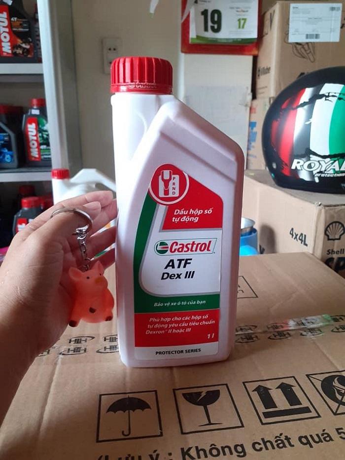 dầu hộp số Castrol ATF DEX III 5