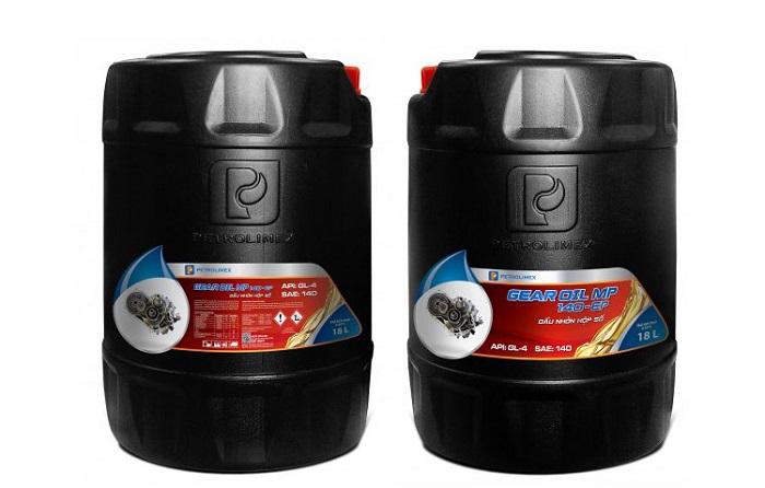 dầu hộp số Petrolimex Gear oil MP 140 EP