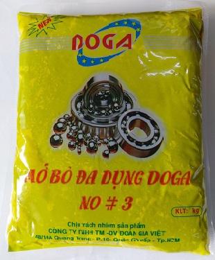Mỡ bôi trơn đa dụng Doga No 3 túi 1kg