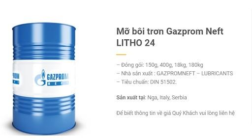 Mỡ bôi trơn Gazprom Neft LITHO 24