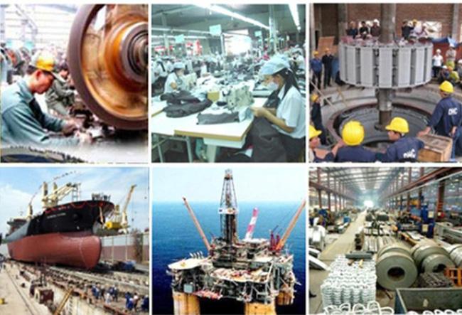 sản xuất công nghiệp nặng