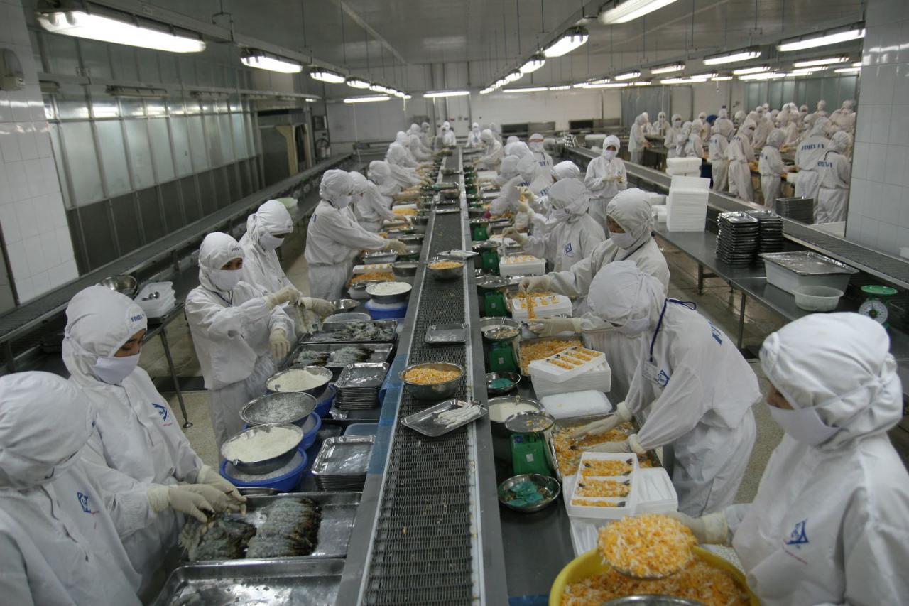 sản xuất đồ ăn